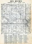 Des Moines Township, Jackson, Belmont, Jackson County 1951